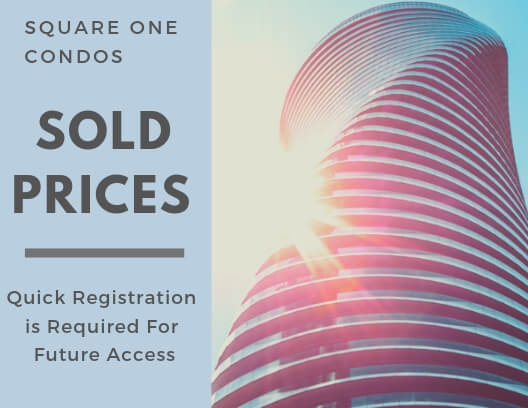 Square One Condos Sold Prices